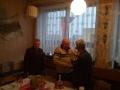 Bartók Josef, gratulanti: Vítězslav Steffek a Jindřich Bedrunka